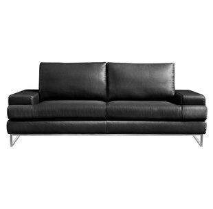 Angeline Leather Loveseat