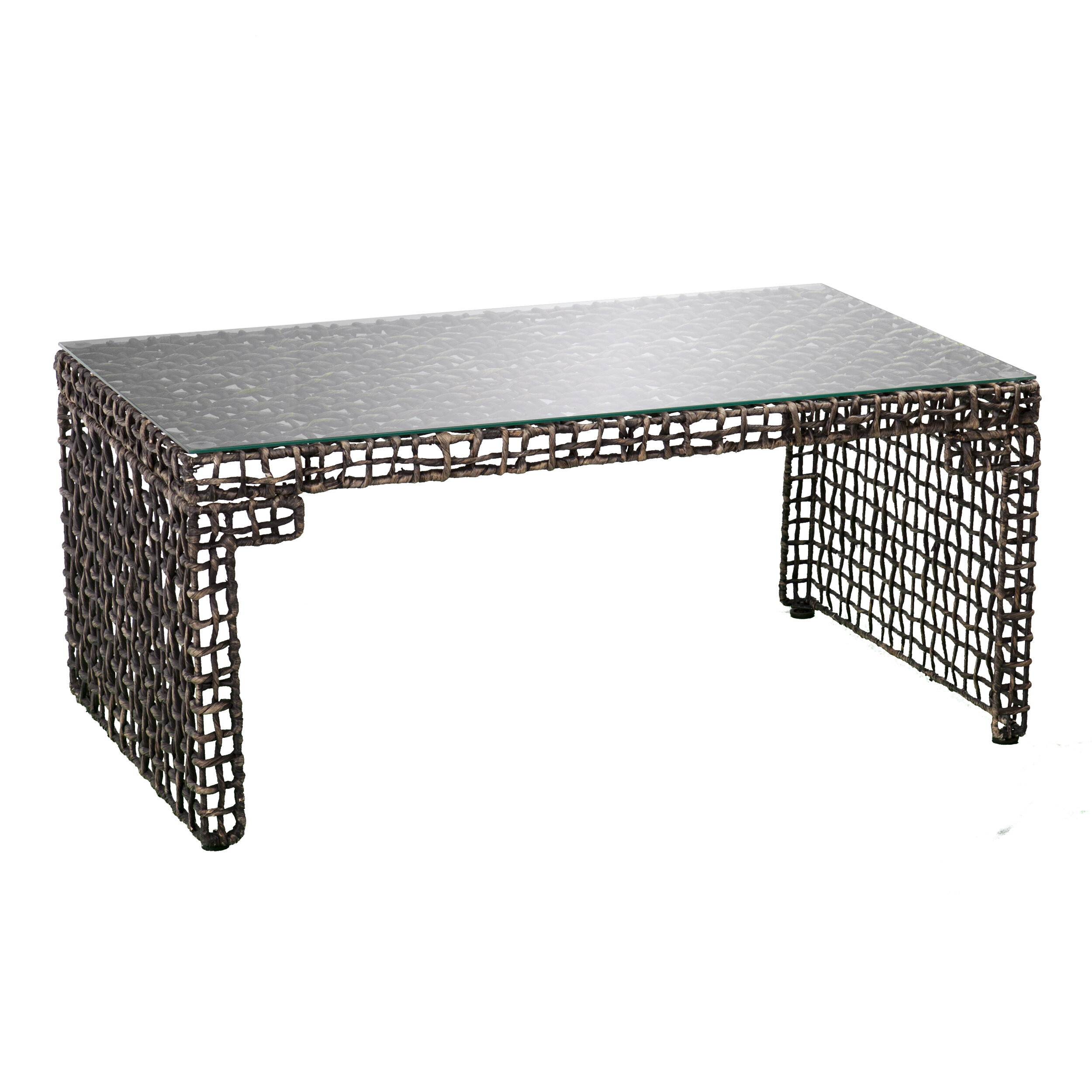 World Menagerie Akersville Woven Coffee Table & Reviews