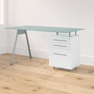 Coleshill Glass Writing Desk