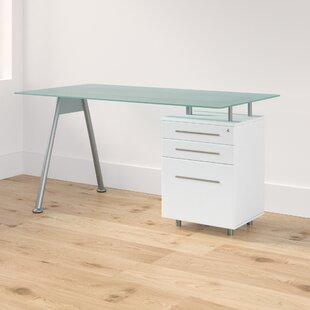Coleshill Glass Writing Desk