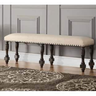 Laurel Foundry Modern Farmhouse Fortunat Upholstered Bench