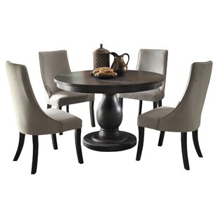 Barrington 5 Piece Dining Set Three Posts
