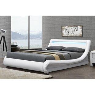 Barcelona Upholstered Bed Frame By Ebern Designs