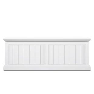 Amityville Wood Storage Bench