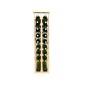 Premium Cellar Series 20 Bottle Floor Wine Rack by Wineracks.com