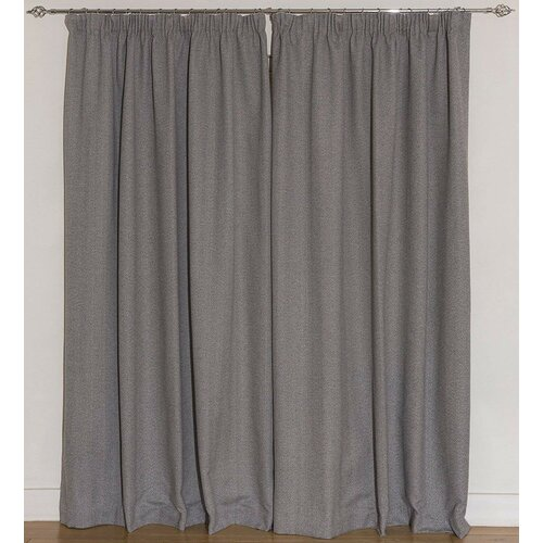 Anson Pencil Pleat Blackout Thermal Curtains Ebern Designs S