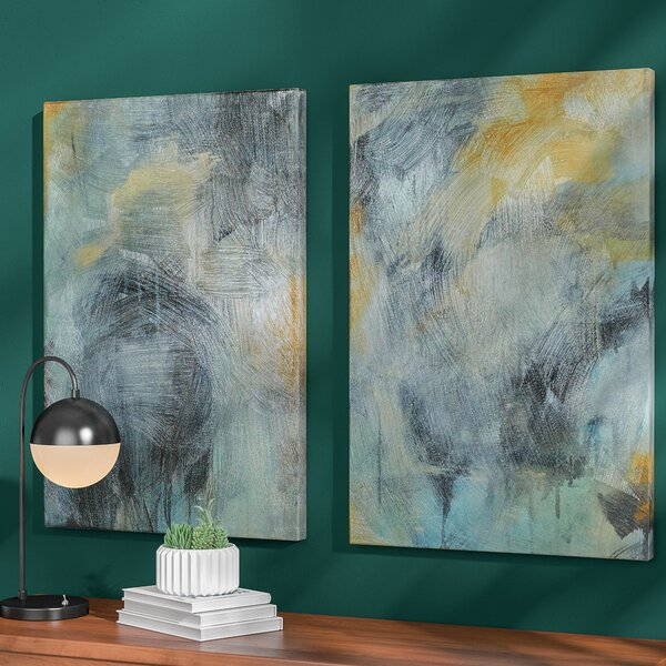 Langley Street Tranquility 2 Pieces Painting Print On Canvas Set & Reviews by Langley Street