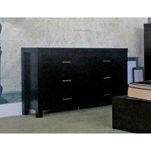 Paniagua Classy 6 Drawer Standard Dresser/Chest