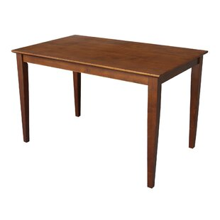 Solid Wood Dining Table by International Concepts #1