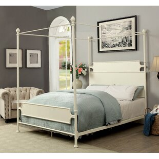 Alcott Hill Klaus Canopy Bed