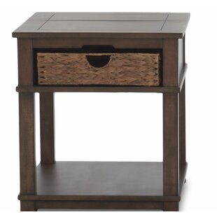 Coffman End Table with Storage