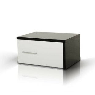 Comparison Elettra Modern 1 Drawer Nightstand By Wade Logan
