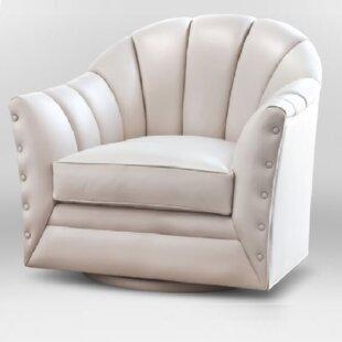 Stephanie Swivel Armchair by Artistic Leather