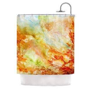 Autumn Breeze by Rosie Brown Single Shower Curtain