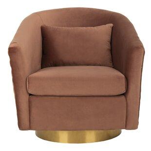 Safavieh Clara Swivel Barrel Chair