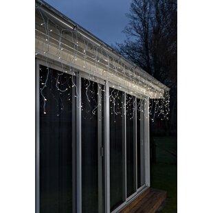 LED Ice Rain Light Curtain By Konstsmide
