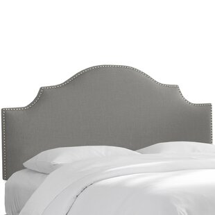 Purchase Rosecrans Linen Upholstered Panel Headboard by World Menagerie