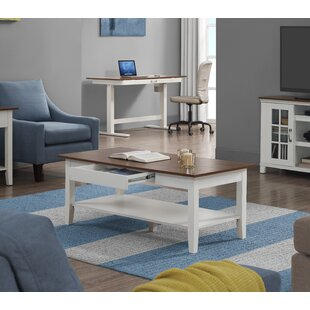 Georgitte Coffee Table with Storage by Highland Dunes