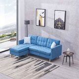 Grissom 107 Reversible Modular Sectional with Ottoman by Corrigan Studio®