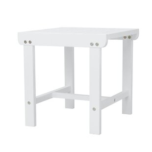 Mahler Patio Wooden Side Table