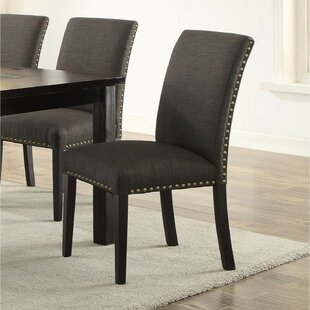 Roudebush Upholstered Dining Chair (Set of 2) by Charlton Home