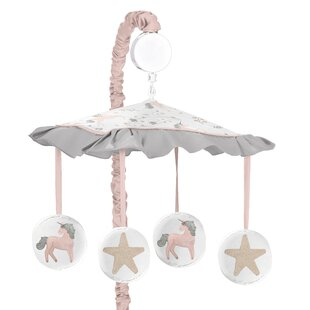 Best Price Unicorn Musical Mobile BySweet Jojo Designs