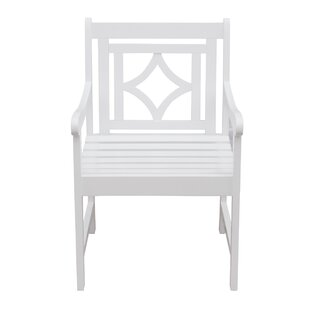 Mahler Diamond Patio Dining Chair
