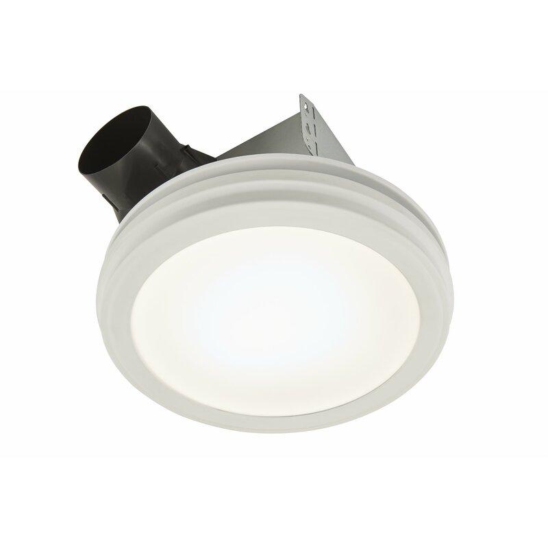 Broan 110 Cfm Energy Star Bathroom Fan With Light Reviews Wayfair