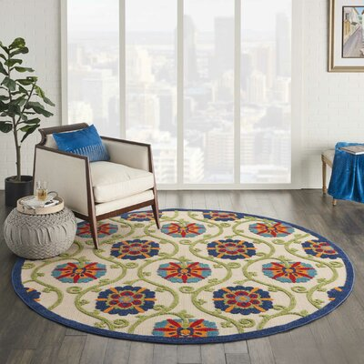 Flat Pile Round Area Rugs You Ll Love In 2019 Wayfair