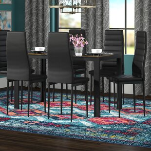 Raoul 7 Piece Dining Set Wade Logan