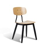 Andrew Side Chair in Brown by sohoConcept