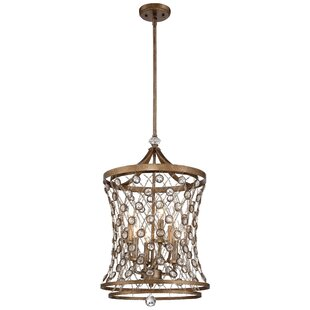 Metropolitan by Minka Vel Catena 6-Light Foyer Pendant