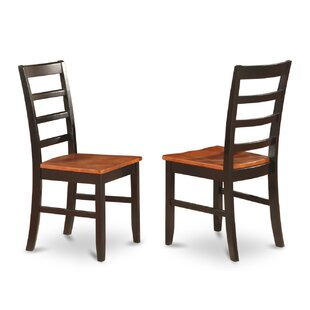 Parfait Upholstered Dining Chair (Set of 2) Wooden Importers