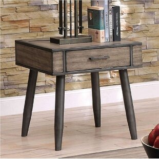 Asher End Table by Union Rustic