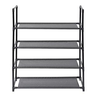 Best Price 4 Level 12 Pair Shoe Rack By Rebrilliant