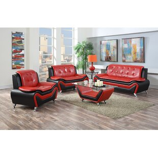 Elzada 4 Piece Living Room Set by Latitude Run