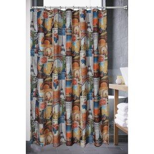 Wan Paris Single Shower Curtain