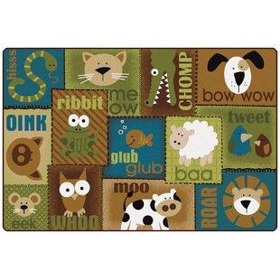 Affordable Animal Sounds Kids Rug ByCarpets for Kids