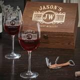Mya 25 oz. Stemmed Wine Glass (Set of 2) by Darby Home Co