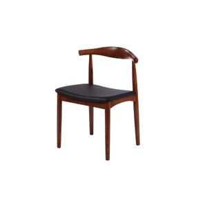 Commercial Seating Products Mid Century Solid Wood Dining Chair