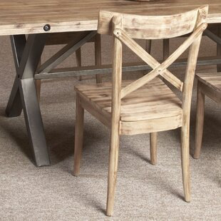 Ophelia & Co. Reatha Solid Wood Dining Chair (Set of 2)