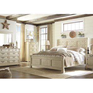 Great Alsace Panel Customizable Acacia Bedroom Set