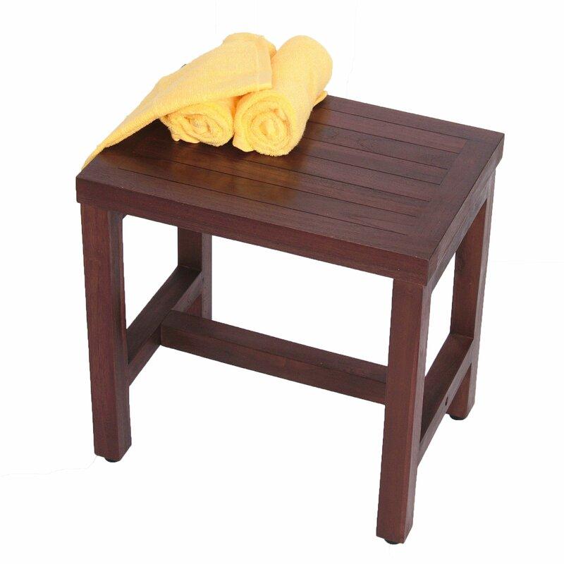 Classic Teak Spa Shower Seat