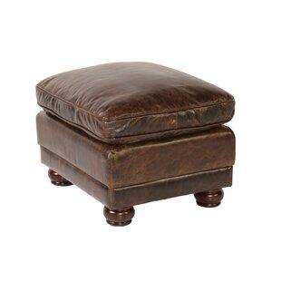 Jakey Leather Storage Ottoman
