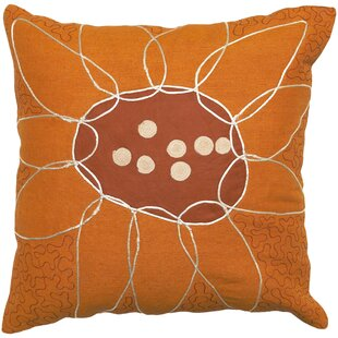 Karas 100% Cotton Throw Pillow Cover