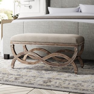 Grundy Upholstered Bedroom Bench by Greyleigh Top Reviews
