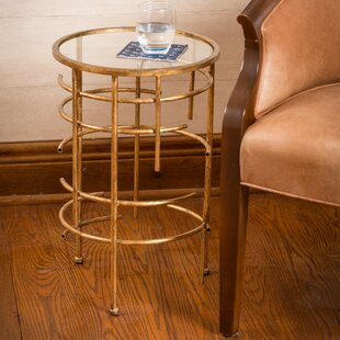 Top Reviews Aiyana End Table by Bungalow Rose