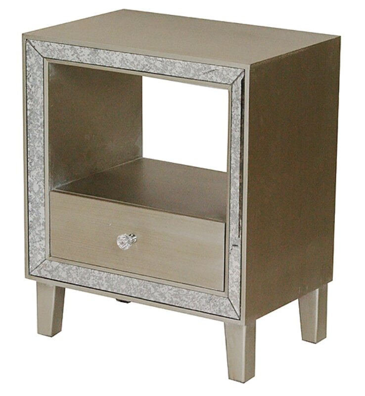 House Of Hampton Lindy End Table With Storage Reviews Wayfair
