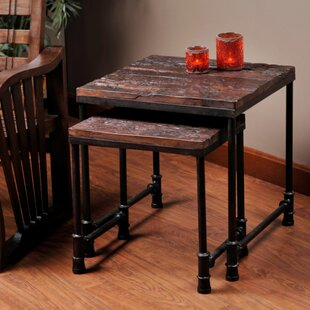 Buy clear Cortland Nesting Table By Loon Peak