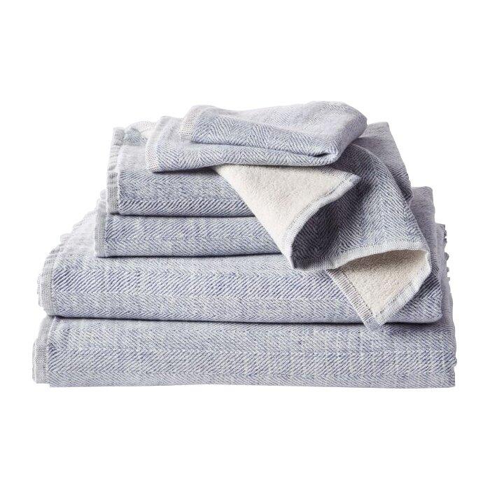 Coyuchi Catalina 100 Cotton Bath Towel Wayfair Ca